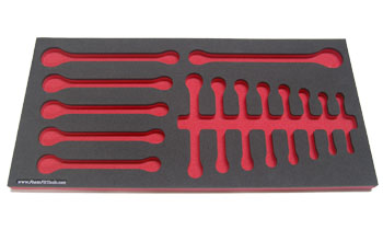 Foam Organizer for 14 Craftsman Metric Wrenches